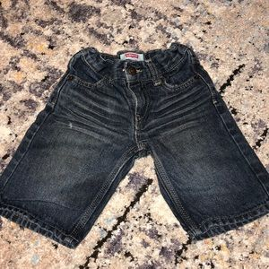 Levi's toddler jean shorts